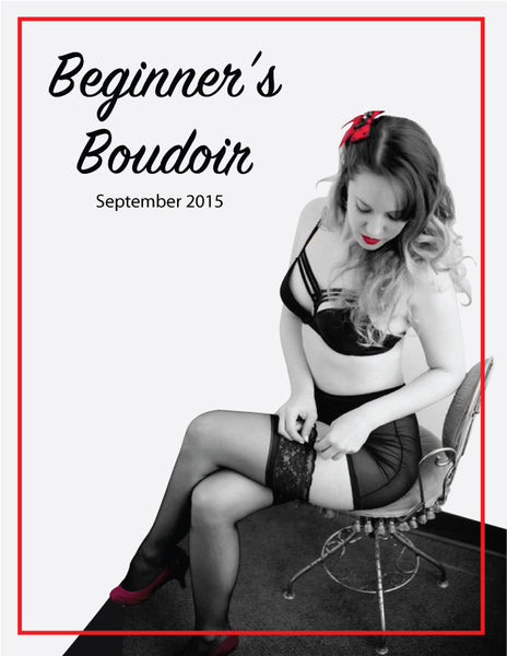 Beginners Boudoir photoshoot