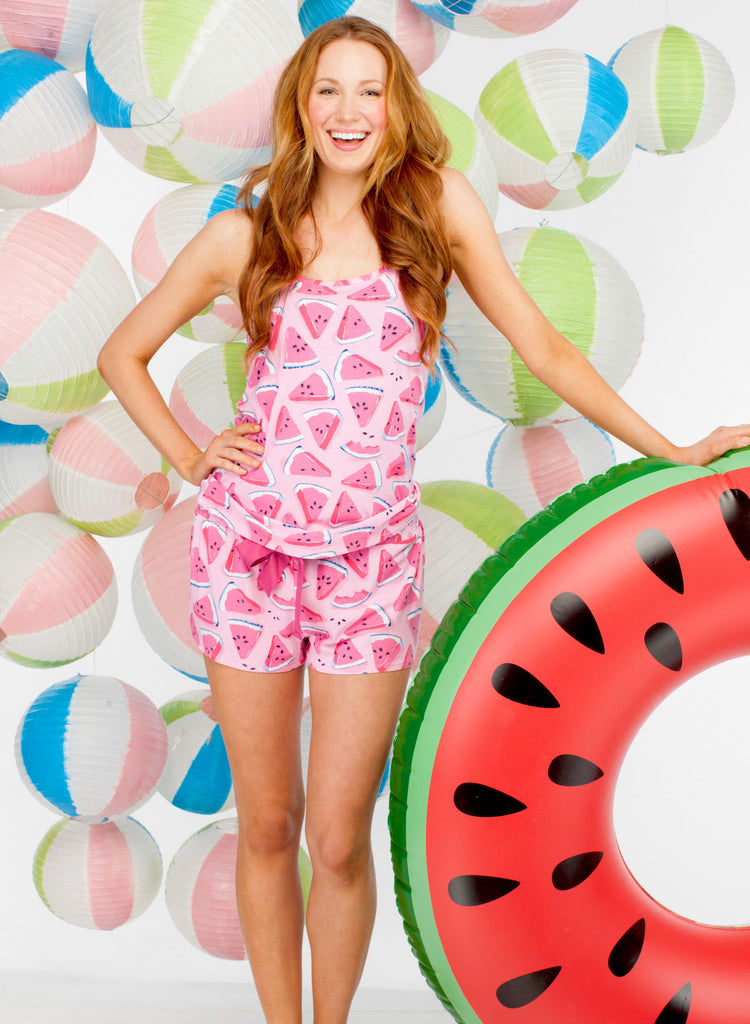 Watermelon Tank & Boxer Set