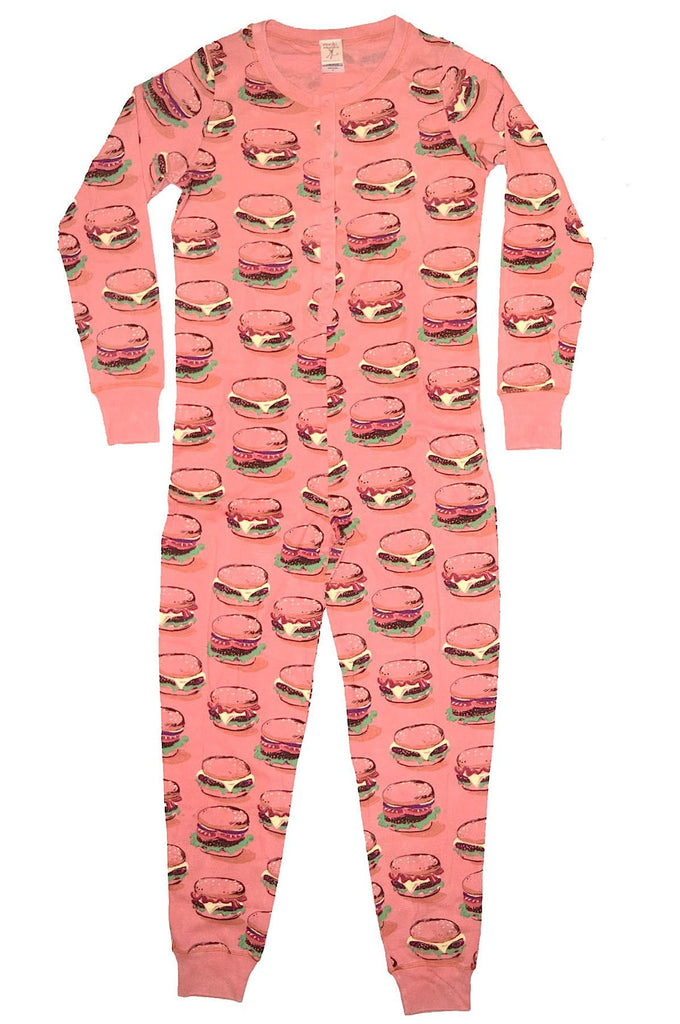 Burger Time Union Suit