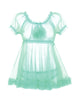 Angel Baby Babydoll Set - Seafoam
