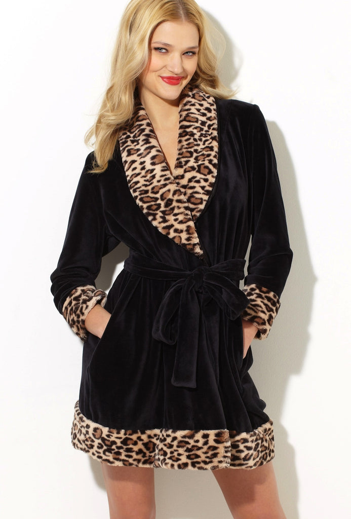 luxe robe on model