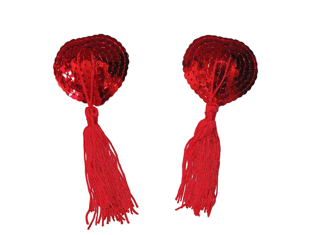 queen of hearts tassels