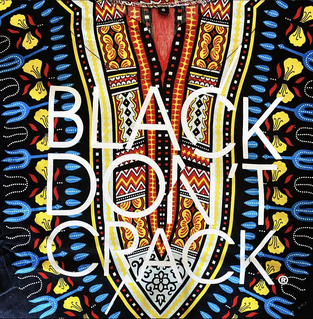 Multi-Colored African Print Dashiki