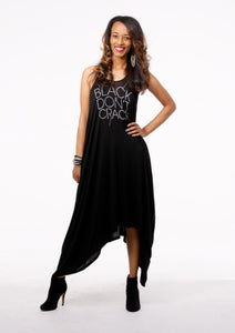 Harlem Silver Bling Tank Dress