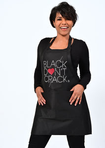 Black Don't Crack Love Collection Bib Apron