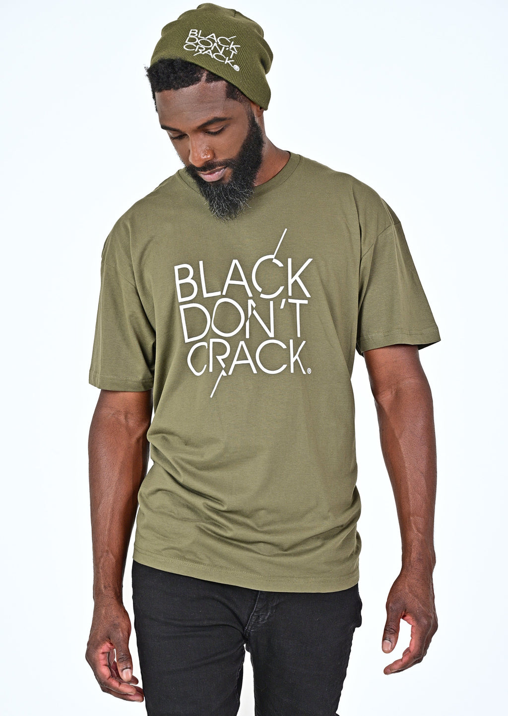 This Black Don't Crack casual, short sleeve, crew-neck t-shirt is your versatile tee for everyday activities. Our 4.3 oz. soft washed crew-neck t-shirt has an amazing feel that allows true comfort. Make this casual t-shirt a staple item in your wardrobe collection.