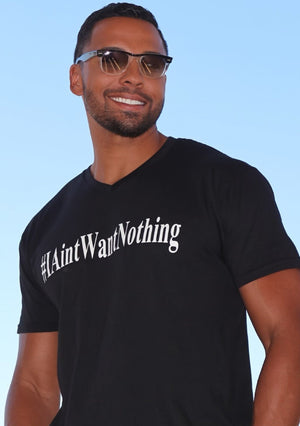 I Ain't Want Nothing Men's V-Neck