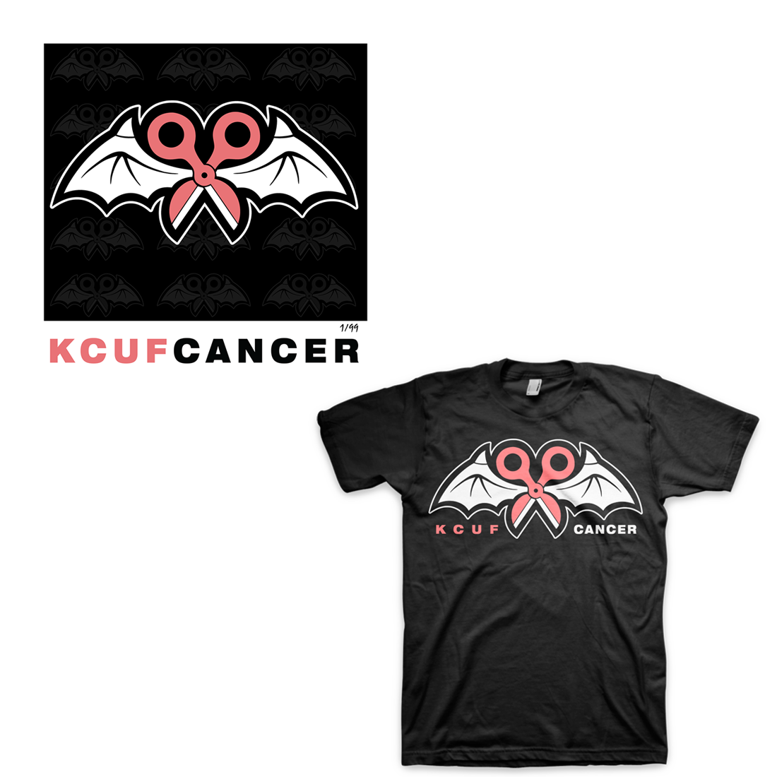 Limited Edition KCUF CANCER Men's Bundle