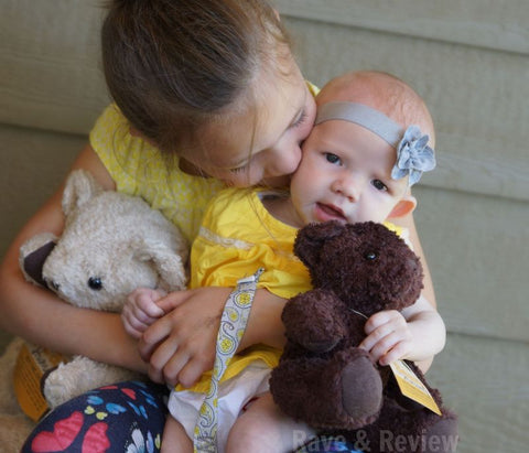 Children with teddy bears