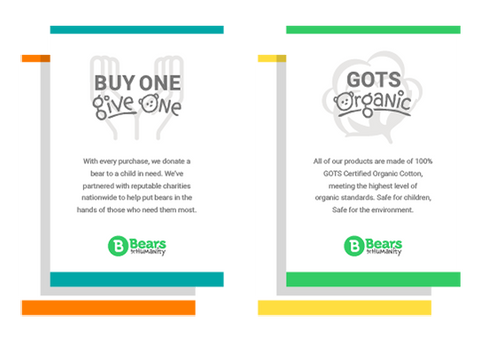 Buy One Give One / GOTS Organic