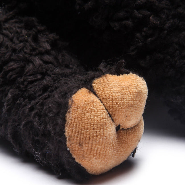 "Organic Black Bear 10"" Plush Toy"