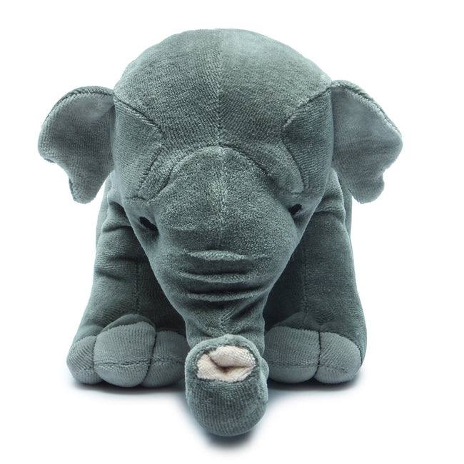 "Organic Asian Elephant 10"" Plush Toy"