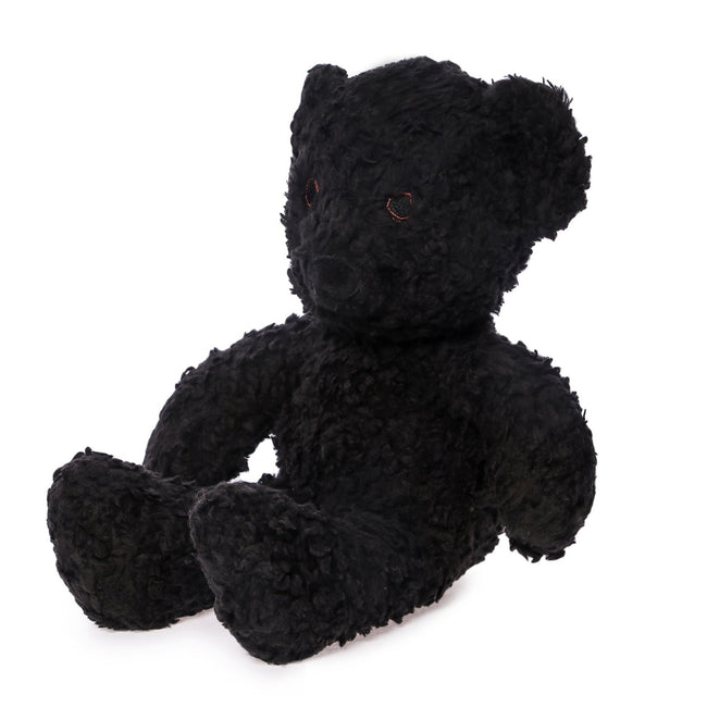 "10"" Black Sherpa Bear"