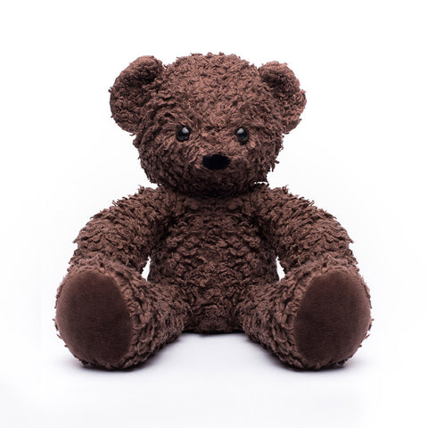Organic Brown 16 Inch Sherpa Bear