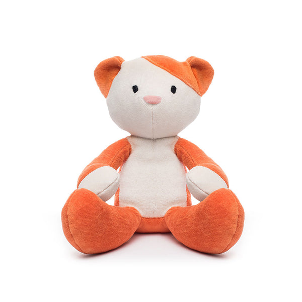 Cat Stuffed Toy Orange And White Plush Cat Organic Cat 12