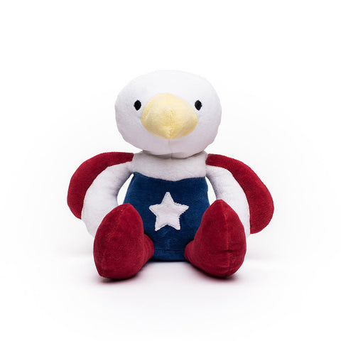 Organic Stuffed Patriotic Eagle