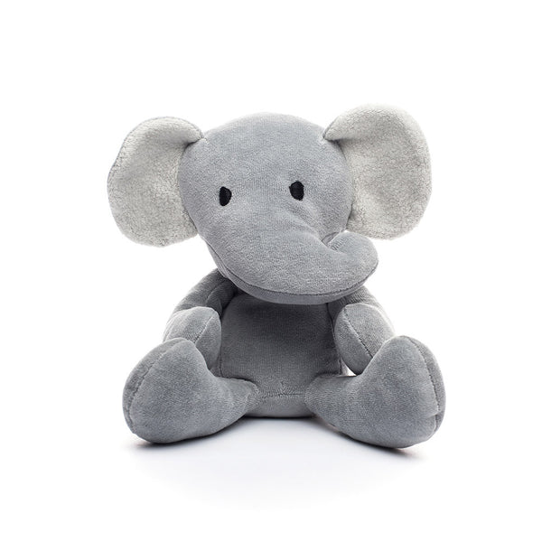 Elephant Stuffed Toy Grey Plush Elephant Organic Elephant 12