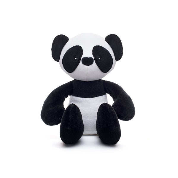 Panda Stuffed Toy Black And White Plush Panda Organic Panda 12