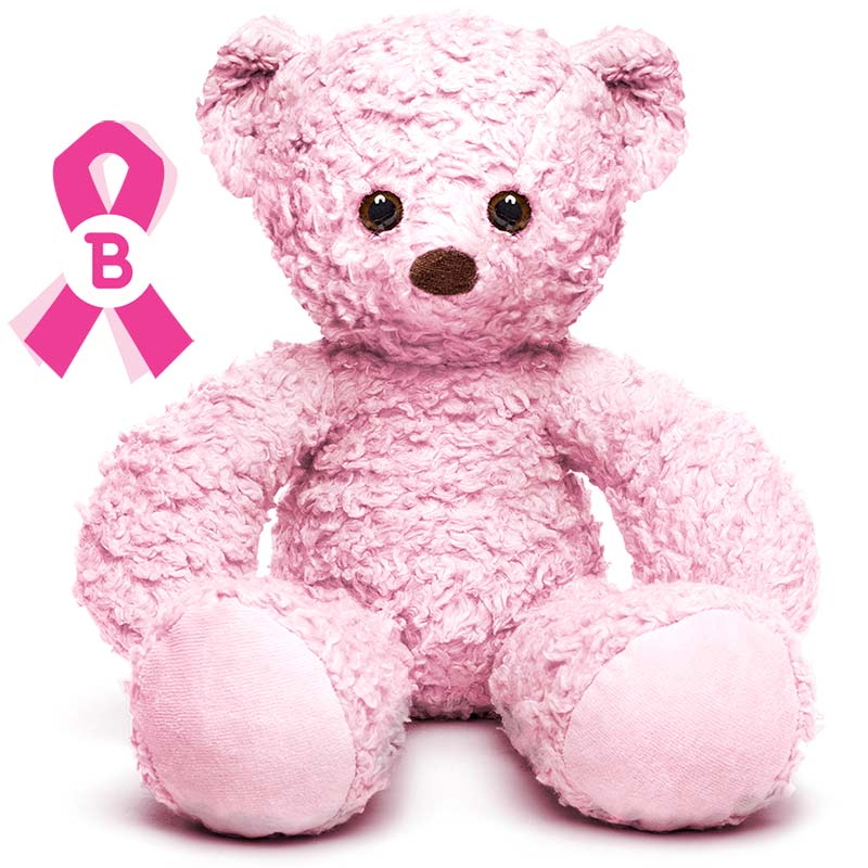 think pink! give a bear for breast cancer awareness