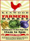 Tonic will be at Kenwood Community Farmers Market June 21