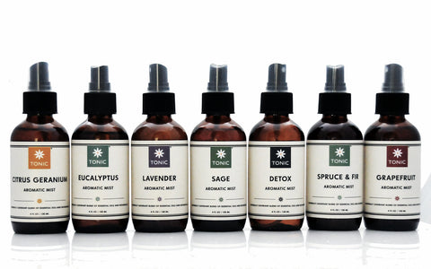 Tonic Naturals Aromatic Room Spray Collection