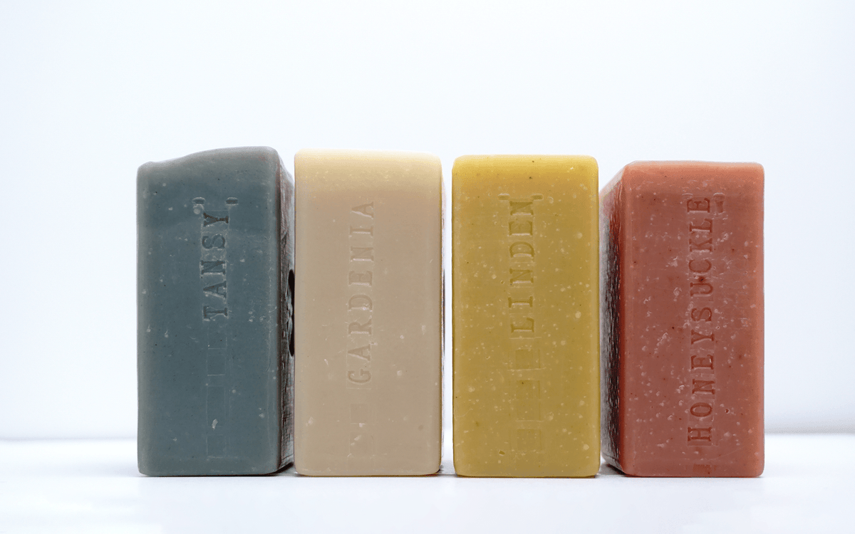 Floral Bar Soap Set