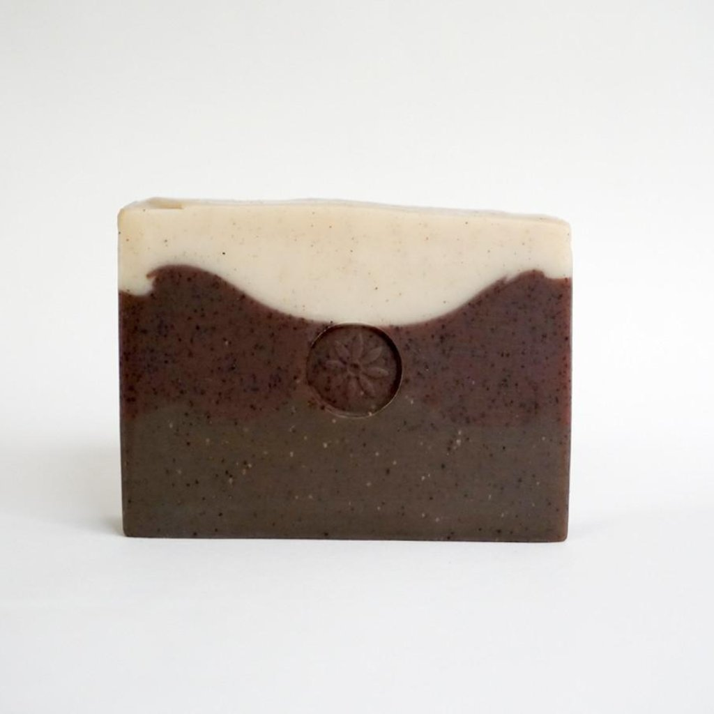 Cardamom Coffee Bar Soap on white background | TONIC