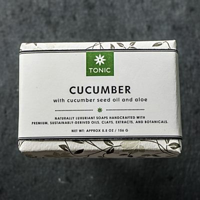 TONIC | Cucumber Bar Soap