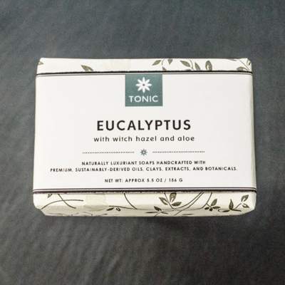 Eucalyptus & Aloe Bar Soap, Wrapped