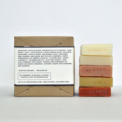 Citrus Collection Mini Bar Soap Sampler