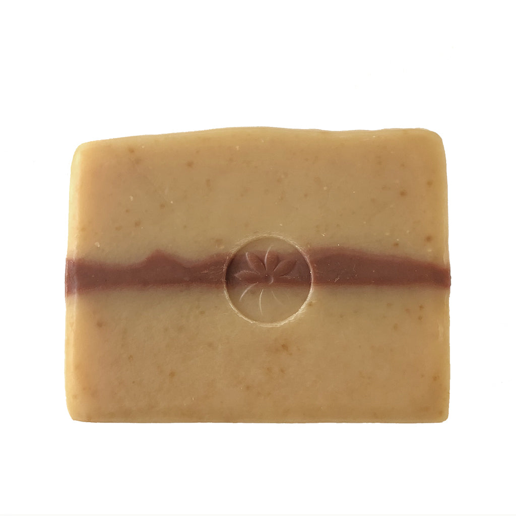 Rockrose Bar Soap with Abyssinian Oil - Unwrapped