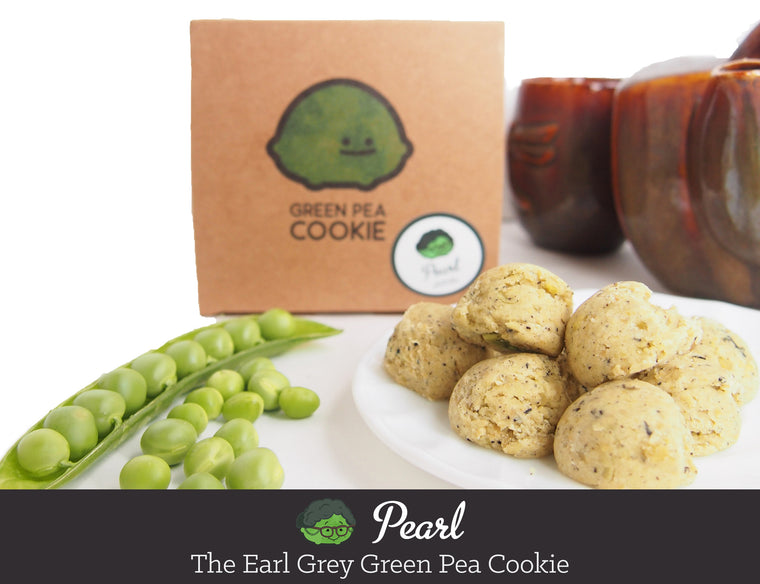 Pearl the Earl Grey Green Pea Cookie