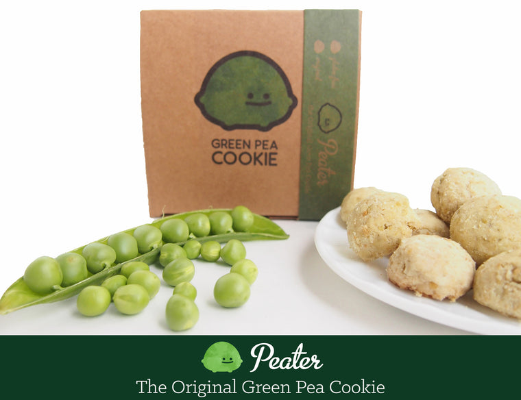 Peater the Original Green Pea Cookie