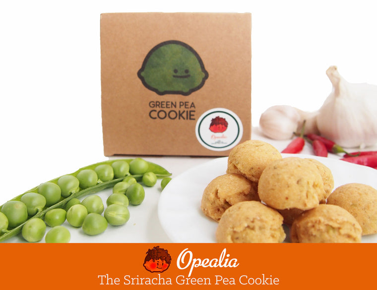 Opealia The Sriracha Green Pea Cookie