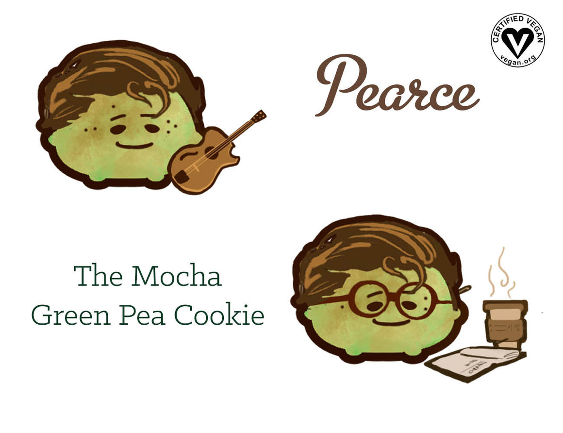 Mocha Green Pea Cookie
