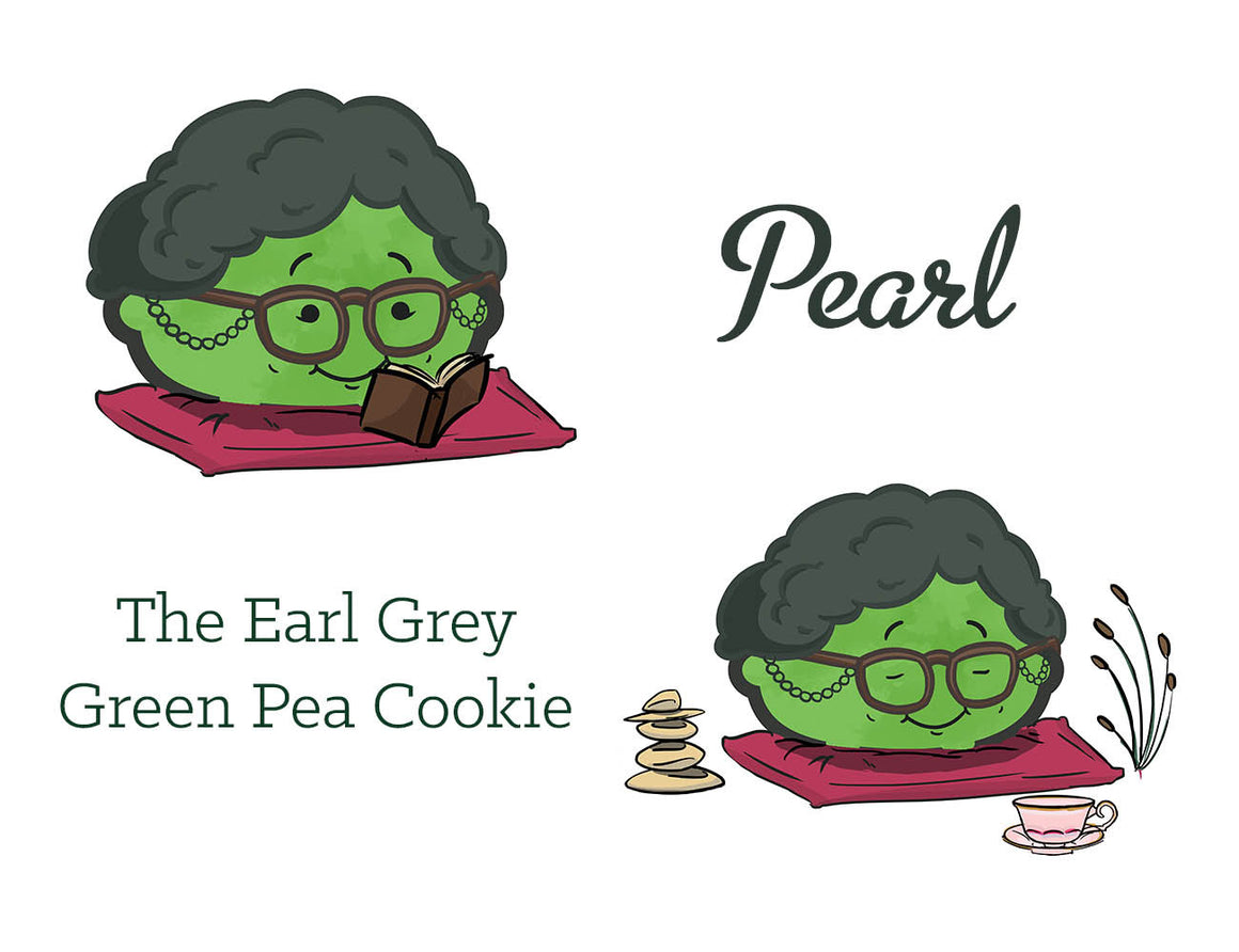 The Earl Grey Green Pea Cookie