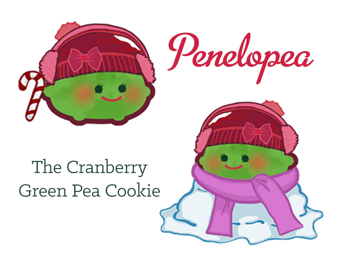 The Cranberry Green Pea Cookie