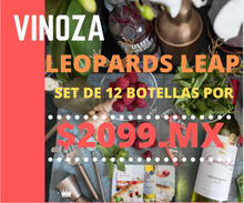 Set 12 Botellas Leopards leap