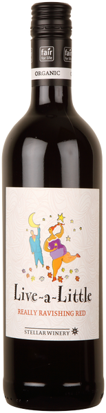 Stellar Organics, Live a Little Really Ravishing Red Shiraz / Merlot