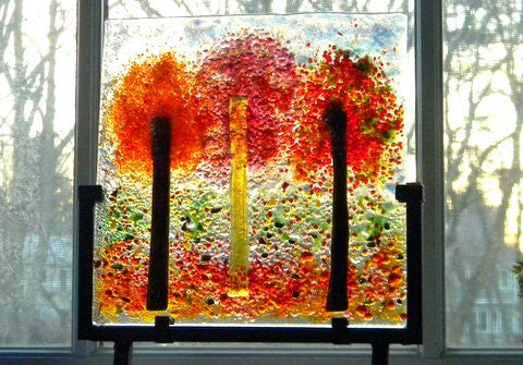 Autumn Fused Glass