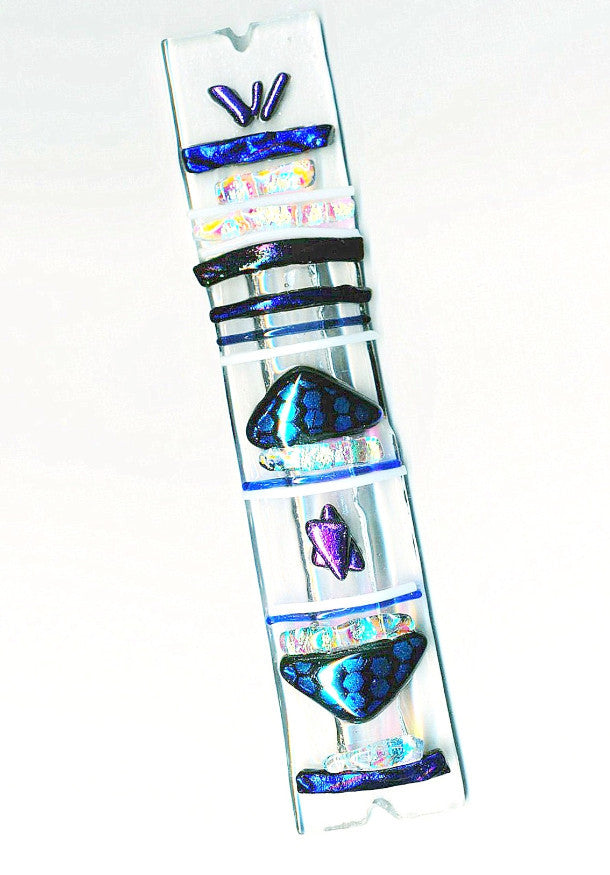 blue star mezuzah