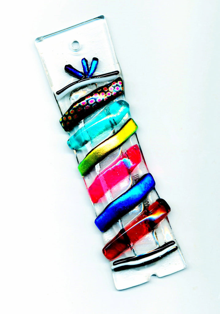colorful cabalero mezuzah