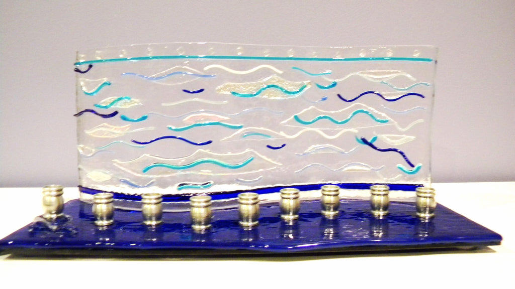 water ripples mezuzah