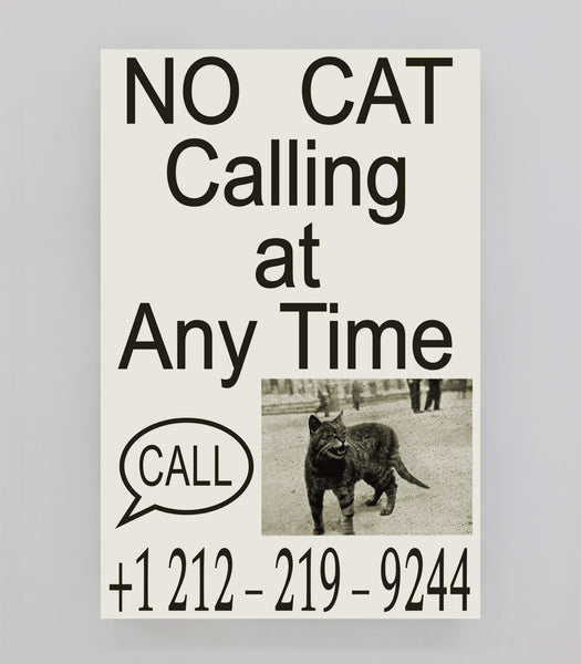 FE Poster: Souvenir 166 - No Cat Calling At Any Time
