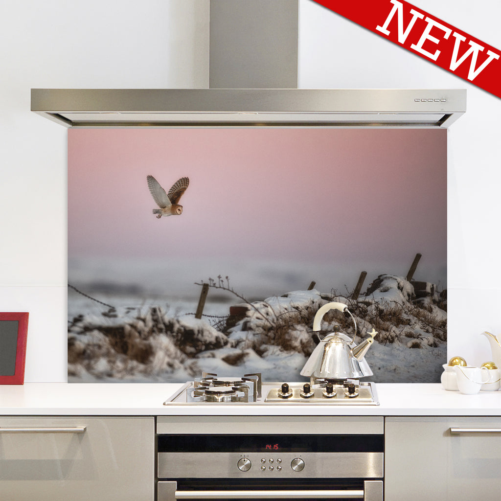 Barnadette and the Pastel Dawn Splashback