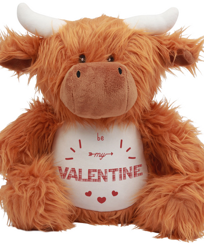Be My Valentine Highland Cow - Wildlife Cuddlies