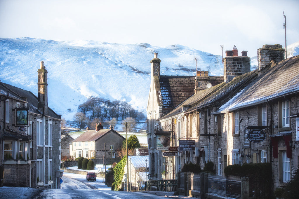 Castleton Winter Landscape Print