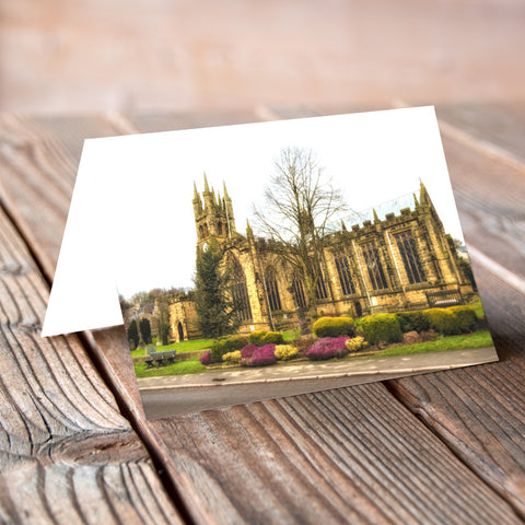 Greeting Card - Cathedral of the Peaks