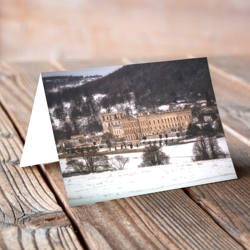 Greeting Card - Chatsworth Winter