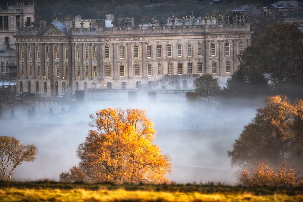 Chatsworth Golden Autumn Print